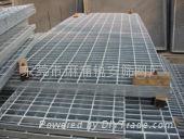 鋼格柵板浸鉛水鋼格板