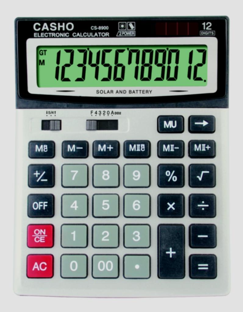 電子計算器 CASHO CS-8900 12位數字 1