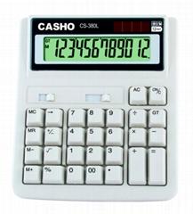 電子計算器 CASHO CS-380L 12位數字