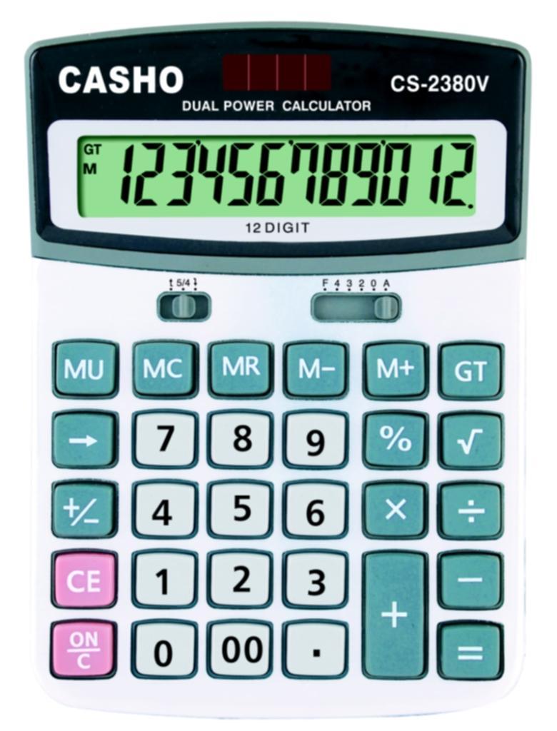 Electronic Calculator CASHO CS-2380V 12 DIGIT 1