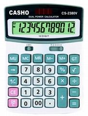 電子計算器 CASHO CS-2380V 12位數字