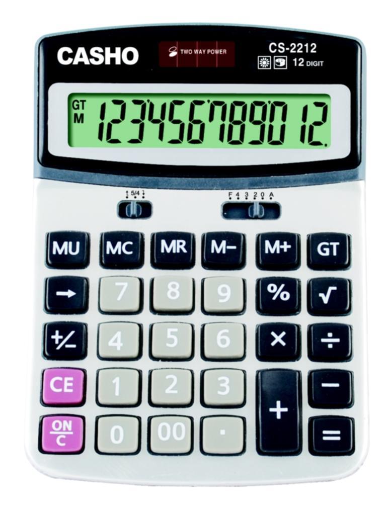電子計算器 CASHO CS-2212 12位數字 1