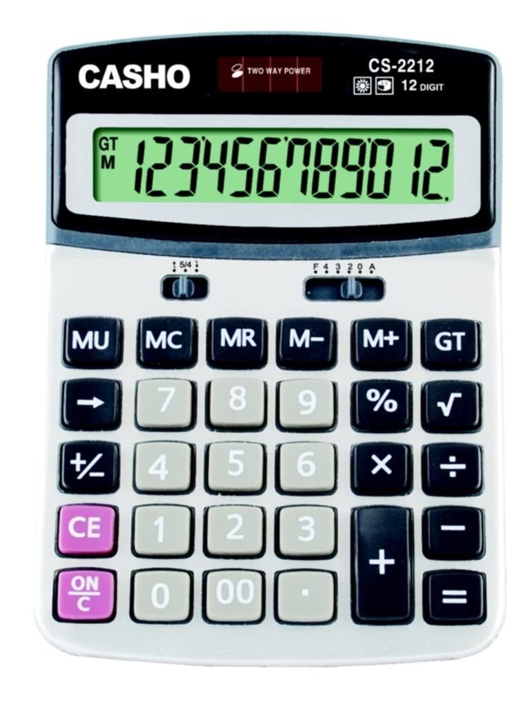 Electronic Calculator CASHO CS-2212 12 DIGIT 1