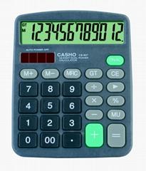 電子計算器 CASHO CS-837 12位數字