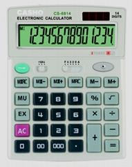 電子計算器 CASHO CS-6814 14 位數字