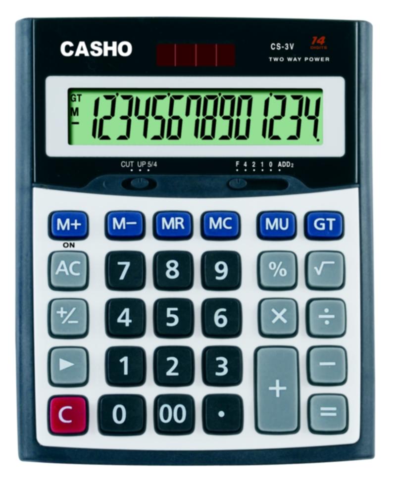 Electronic Calculator CASHO CS-3V 14 DIGIT 1