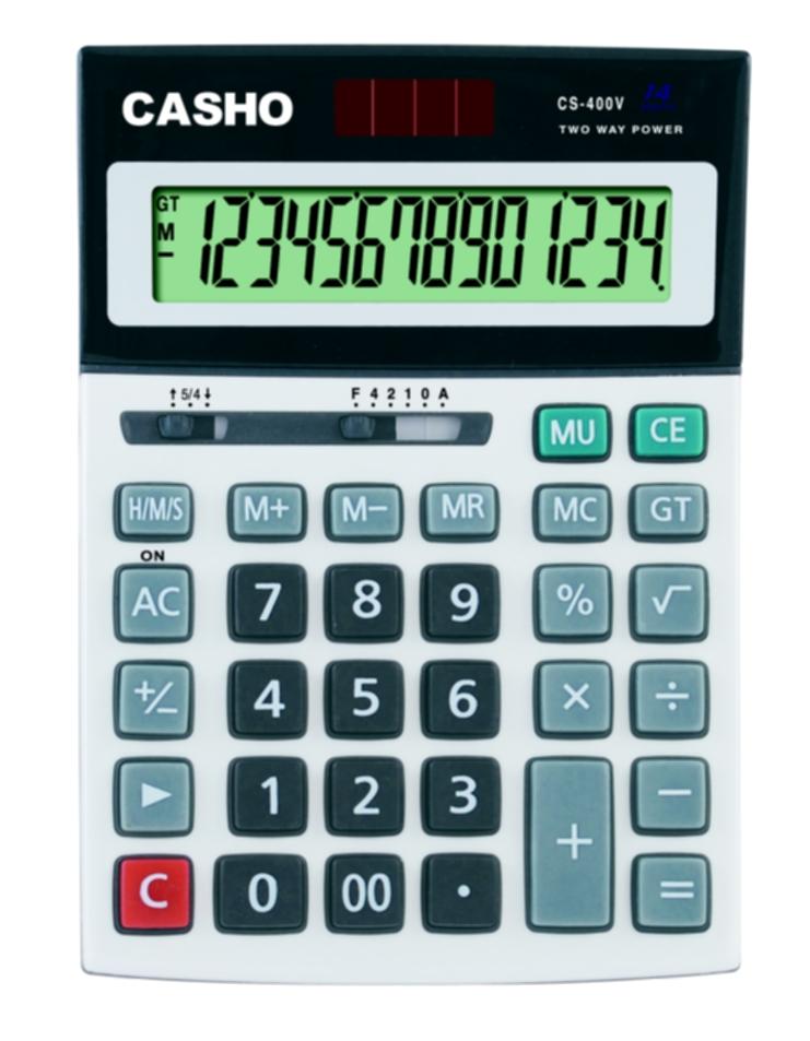 电子计算器 CASHO CS-400V 14 位数字 1