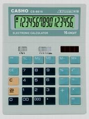 电子计算器 CASHO CS-8616 16 位数字