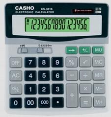電子計算器 CASHO CS-3816 16 位數字