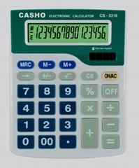 電子計算器 CASHO CS-3316 16 位數字