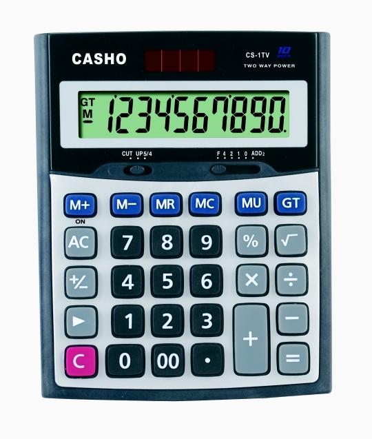 电子计算器 CASHO CS-1TV 10位数字 1