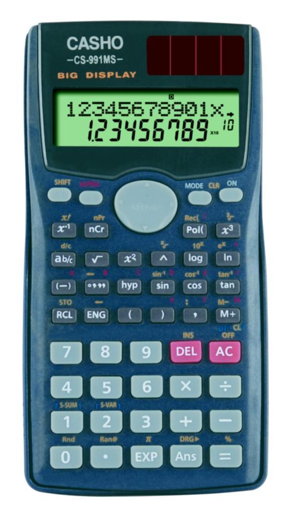 函数计算器 CASHO CS-991MS 1