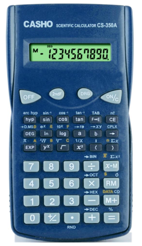 函数计算器 CASHO CS-350A 1