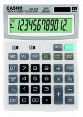 電子計算器 CASHO CS-712 12位數字