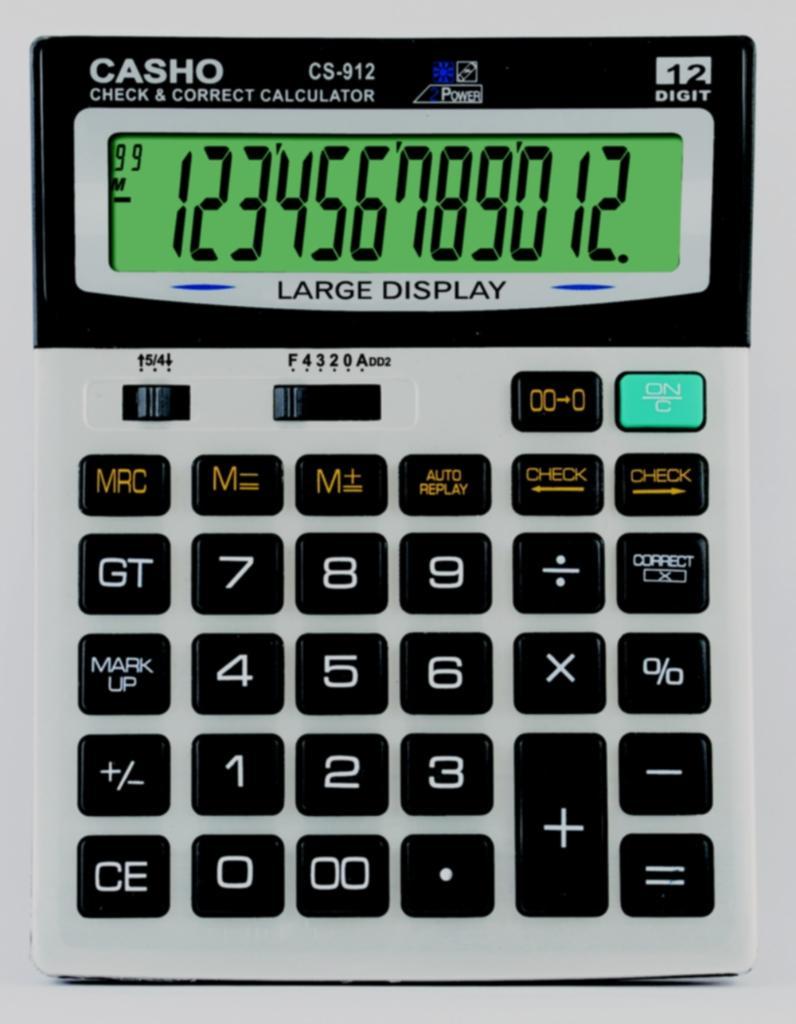 電子計算器 CASHO CS-912 12位數字 1