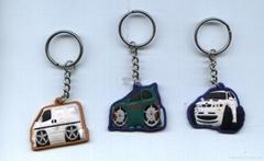 车仔钥匙扣