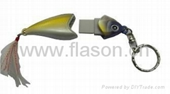 Hot salling Fish Shaped USB Flash Memory Gift