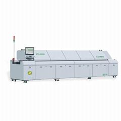 八溫區雙軌無鉛熱風回流焊KTE-800D