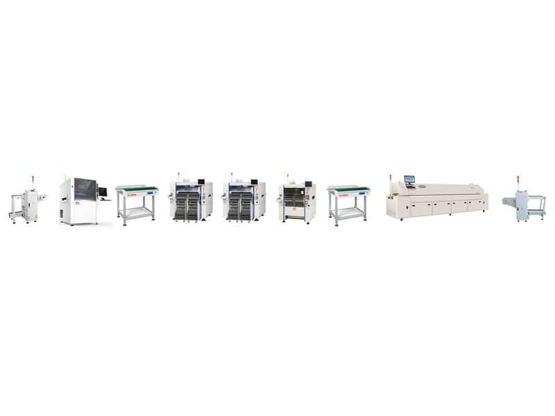 Yamaha高速全自動SMT生產線 1