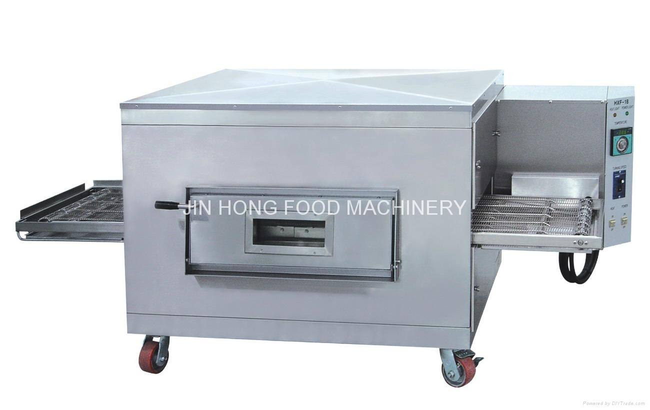 Industrial Food Products : Caterpillar electricity pizza oven hxf china