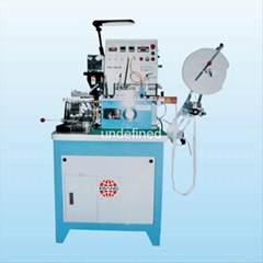 Ultrasonic and automatic label cutting and folding machine
