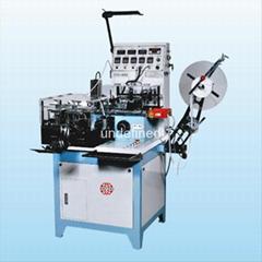 ultrasonic label cutting and folding machine