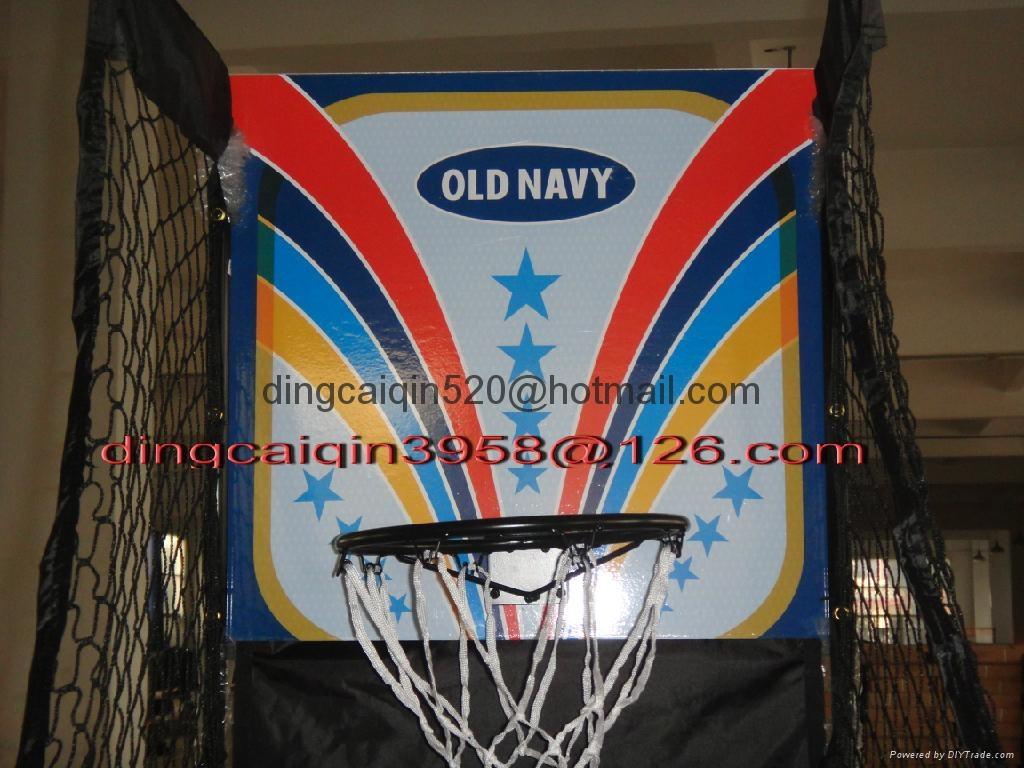 電子記分籃球架 4