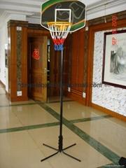双人,单人电子计数器篮球架