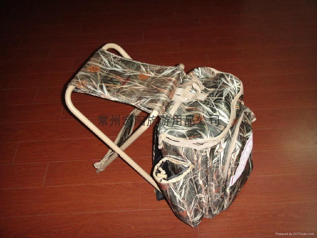 Hunting Backpack with Fishing Chair 2