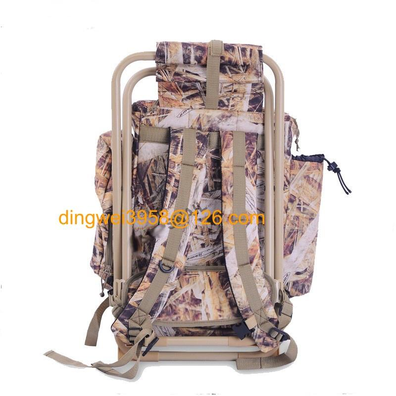 Hunting Backpack with Fishing Chair 5