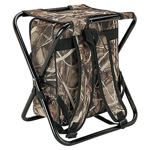 Camping Hunting Fishing Backpack Folding chair with Cooler  1
