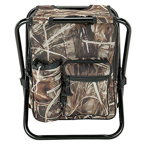 Camping Hunting Fishing Backpack Folding chair with Cooler  2