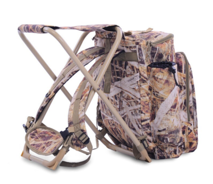 Hunting Backpack with Fishing Chair 1
