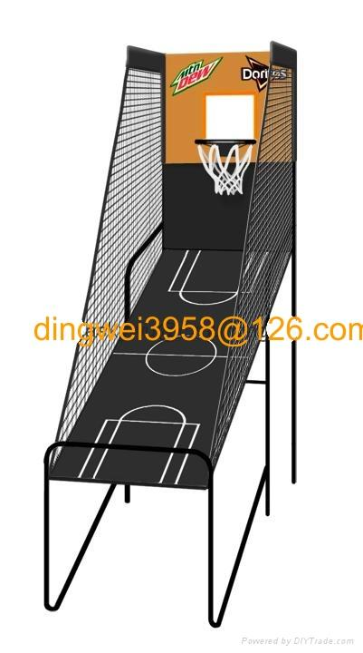 單人電子記分籃球架 3