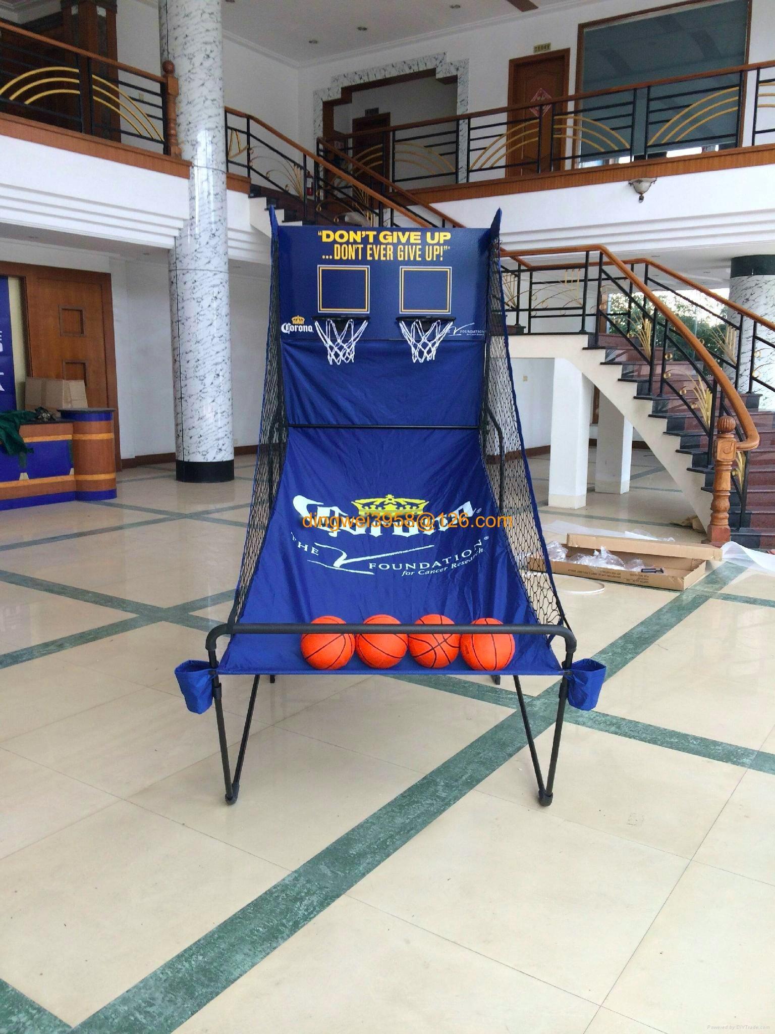 雙人,單人電子計數器籃球架 3