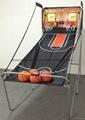 電子記分雙人籃球架