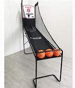 电子记分单人篮球架