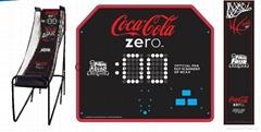 Coke Electronic Basketball Game