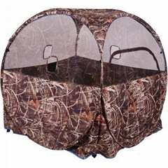 Promotion hunting ground blind