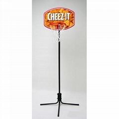 单柱篮球架