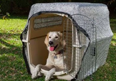 Dog Aluminum Shade CoversAluminet cover for Dog kennel