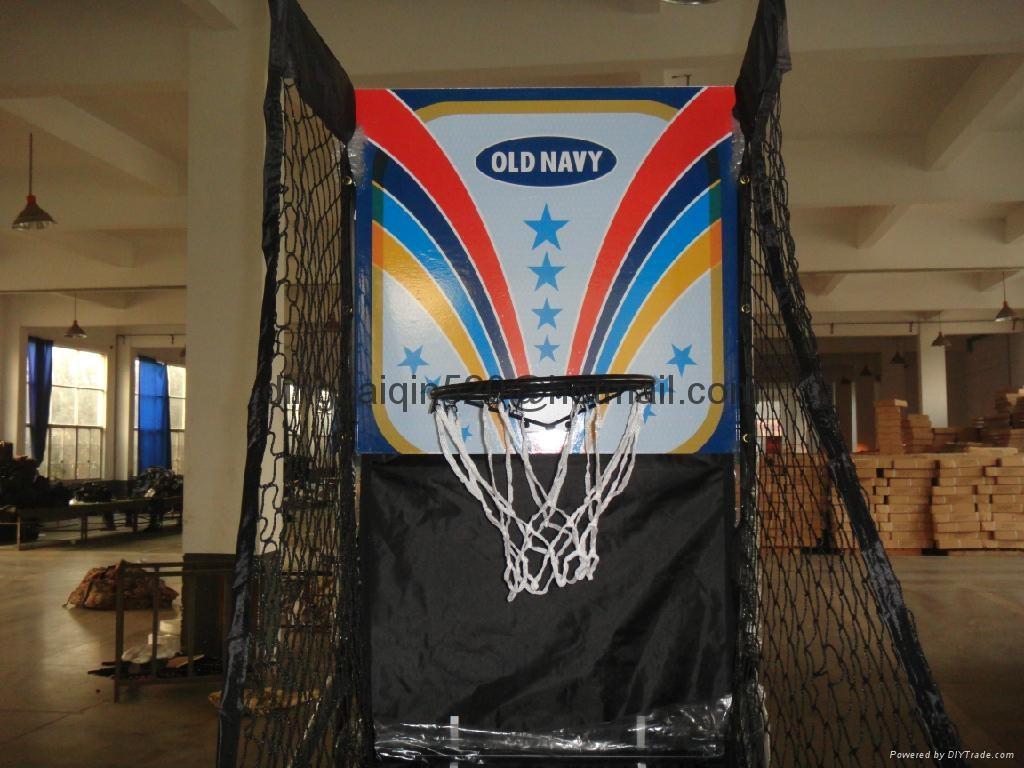 電子記分籃球架 3