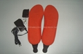 2013 Hot sell Rechargeable Lithium ion battery heated insoles with remote contro