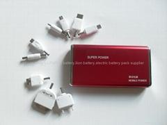 battery bank.external battery pack 6000mAh