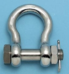 stainless steel US bolt anchor shackle