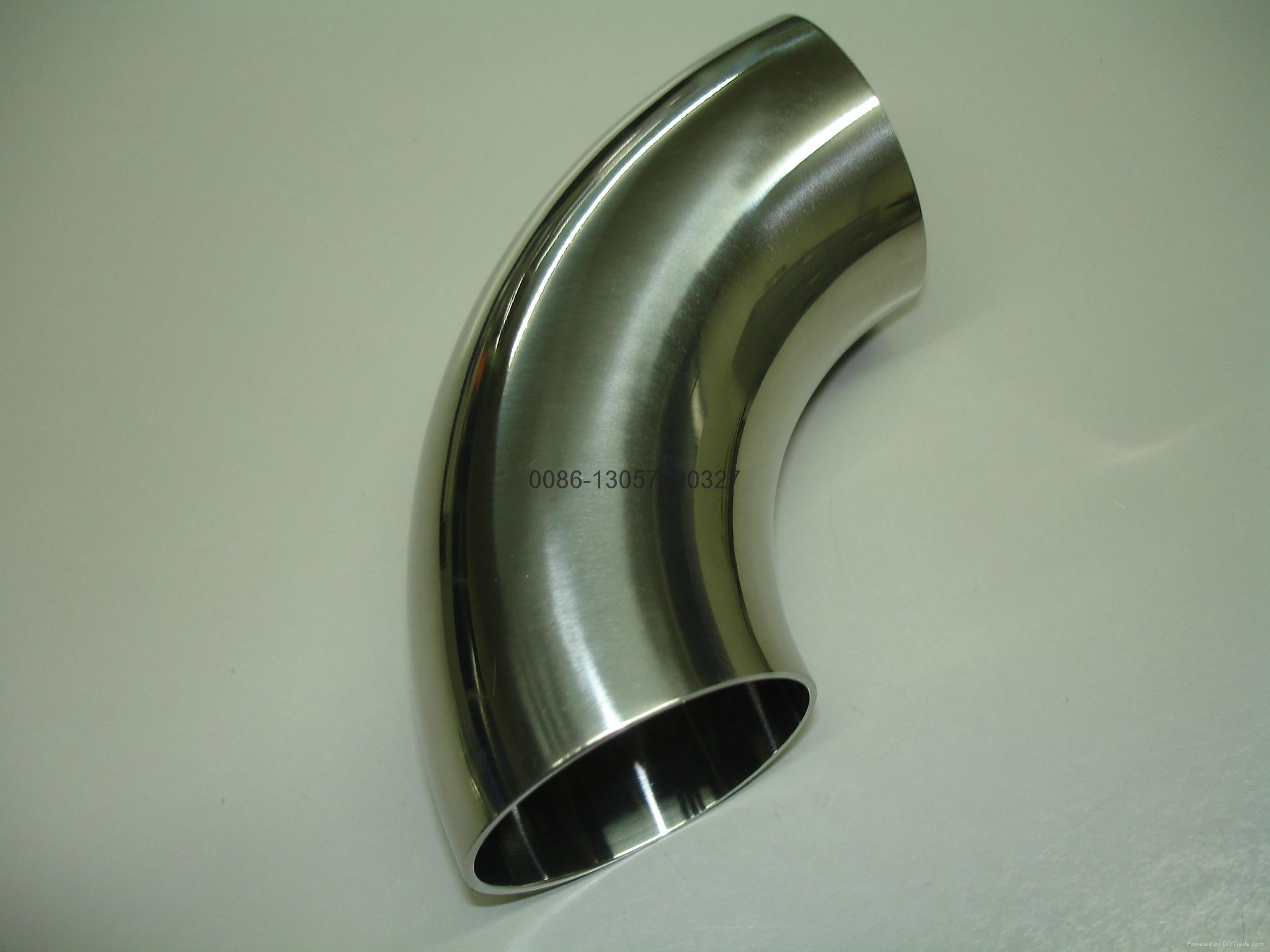 Stainless steel sanitary °short elbow( wcl) ftwt