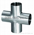 stainless steel sanitary  cross (9WWW)