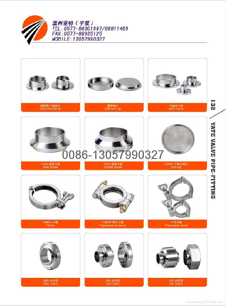 stainless steel tri-clamp unions 1