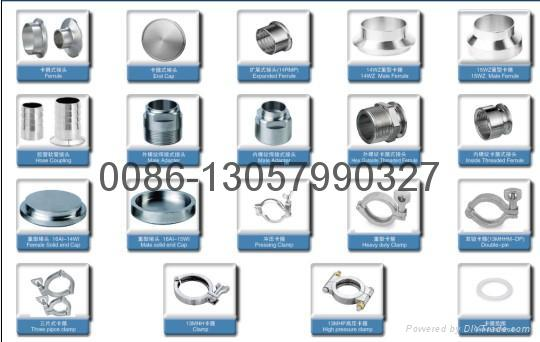 stainless steel tri-clamp unions 4