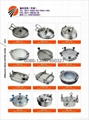 stainless steel manhole an pump